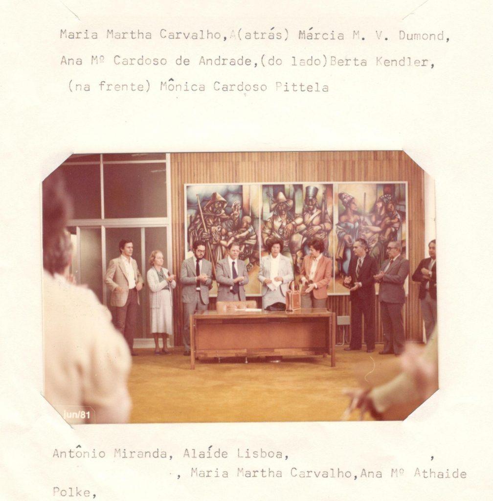 Conferência de título de Professora Emérita à Maria Martha de Carvalho.
