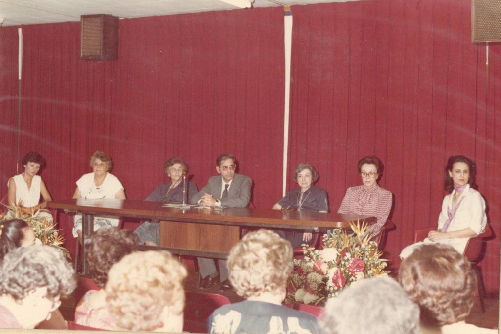 Conferência de título de Professoras Eméritas à Maria Romano Schreiber e a Etelvina Lima.